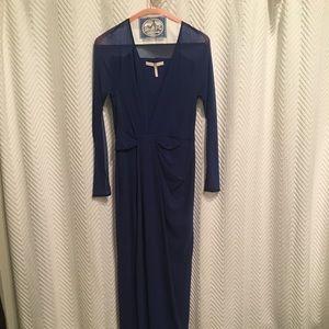 Halston Heritage blue evening dress XS worn 1x